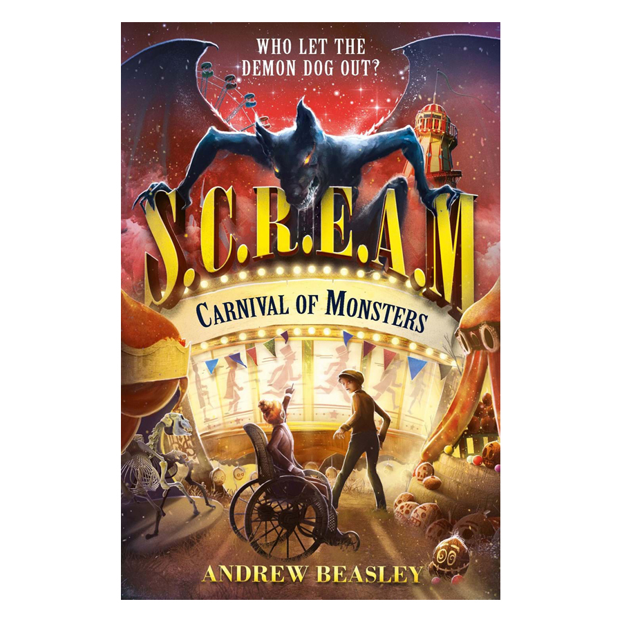 Truyện đọc tiếng Anh - Usborne Middle Grade Fiction: Carnival of Monsters