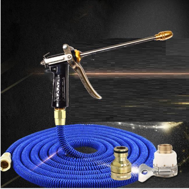 Vòi phun nước rửa xe tưới cây tăng áp thông minh giãn nở khi sử dụng 318709