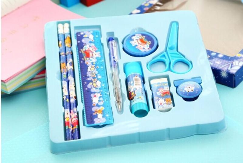 Bộ dụng cụ học tập 9 món cho bé