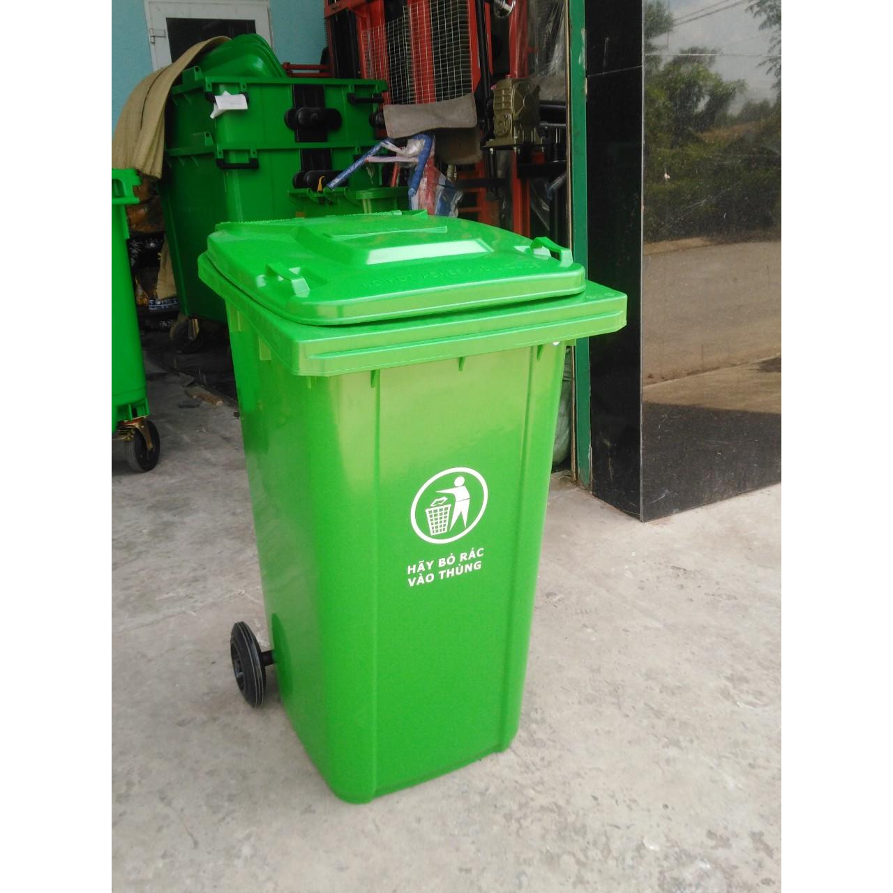 Thùng rác nhựa loại 13.2kg - 240L