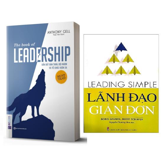Combo The book of leadership - Dẫn dắt bản thân, đội nhóm và tổ chức vươn xa+Lãnh Đạo Giản Đơn (Leading Simple)