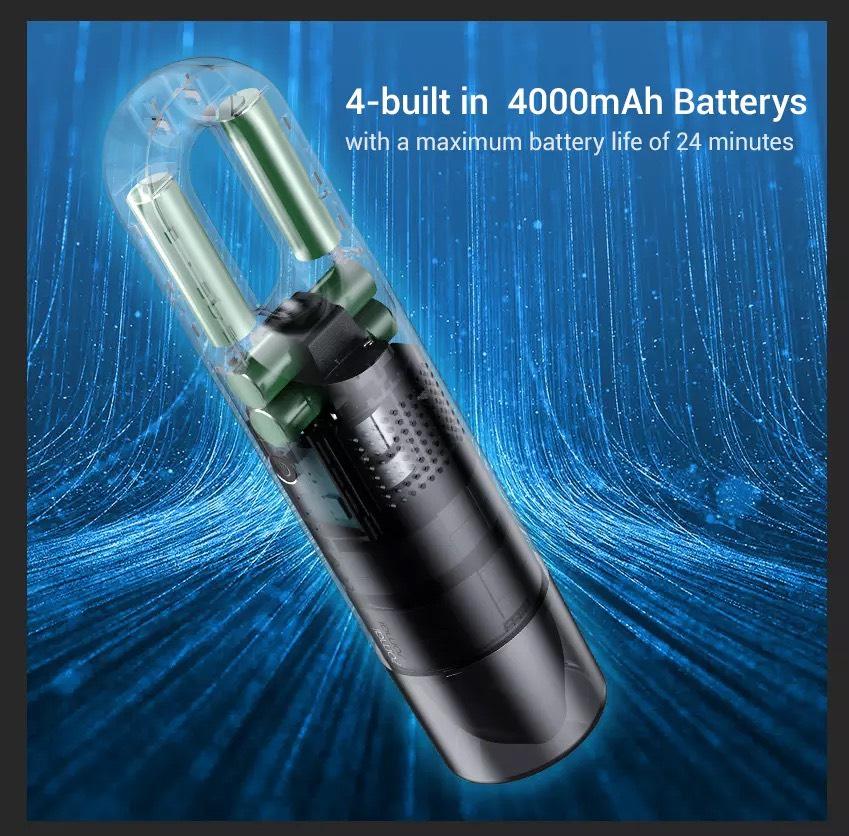 Máy hút bụi 70mai , cầm tay ,di động ,tích hợp pin sạc , 70mai Vacuum Cleaner Swift - Hàng Nhập Khẩu
