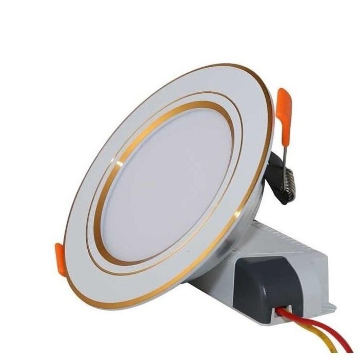 Đèn LED âm trần 7W Rạng Đông, khoét lỗ 90, vỏ nhôm đúc