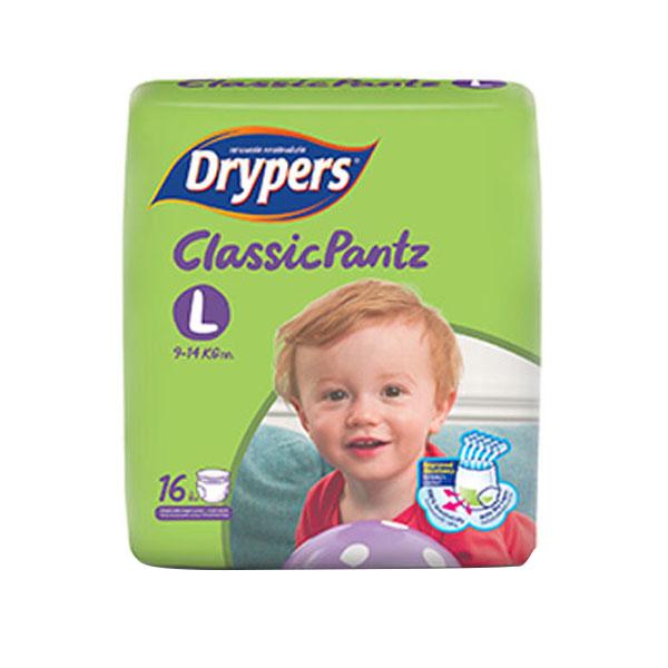 Tã Quần Drypers ClassicPantz L16 16 Miếng