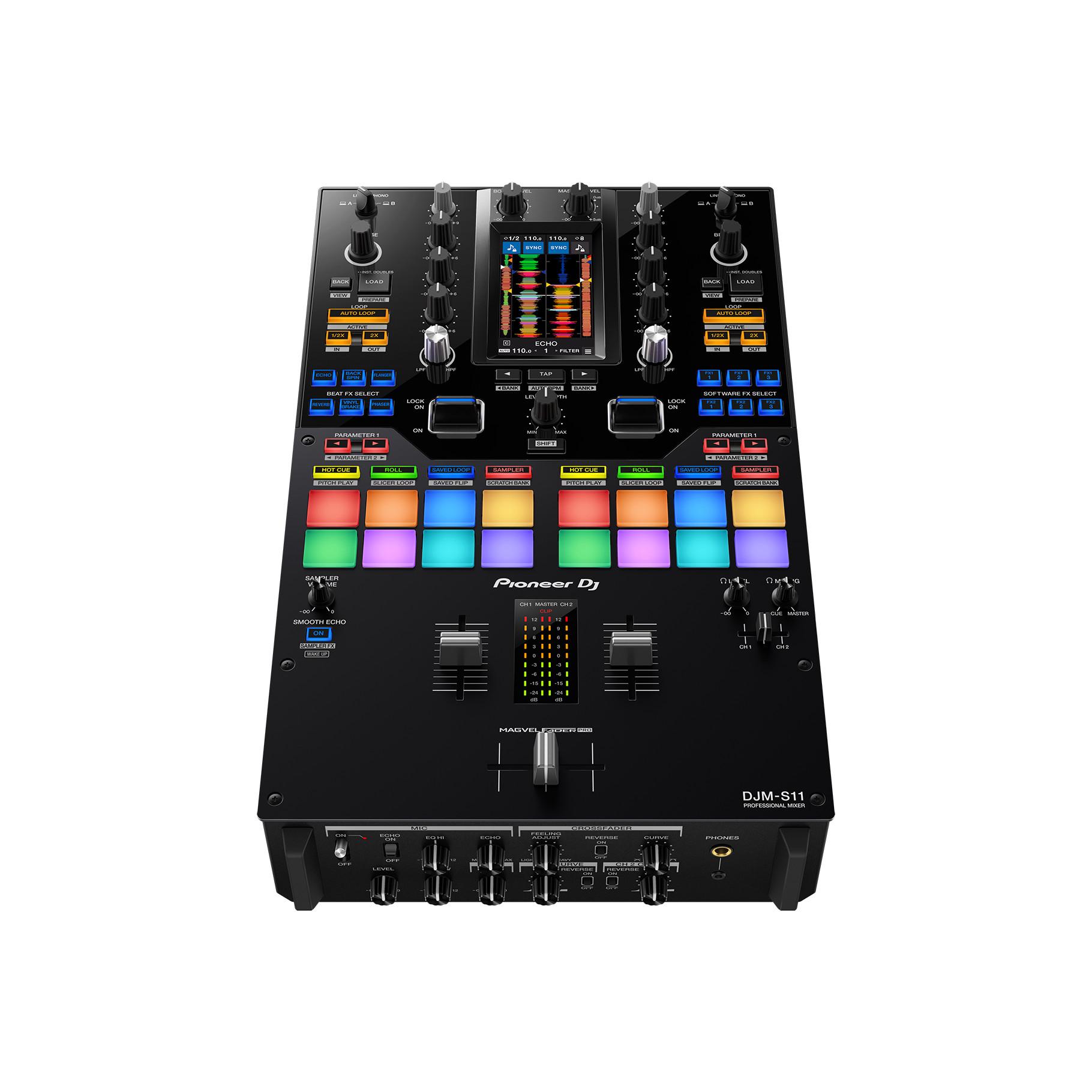 Mixer 2 kênh scratch Pioneer Dj DJM S11 - Hàng chính hãng
