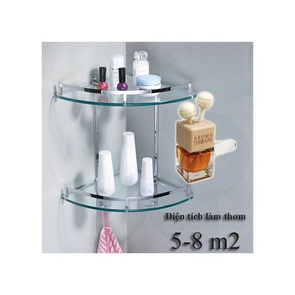 Lọ khuếch tán tinh dầu hoa hồng 10ml gắn máy lạnh, quạt, ô tô và phòng tắm