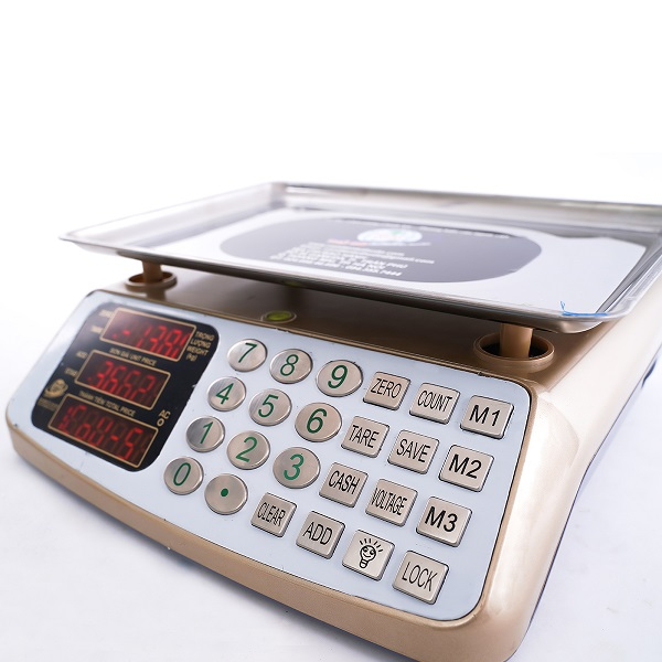 Cân đĩa điện tử tính tiền - Đếm số lượng - HY100-TĐ30 Loại 30Kg - Thủ Đô Electronic Scale