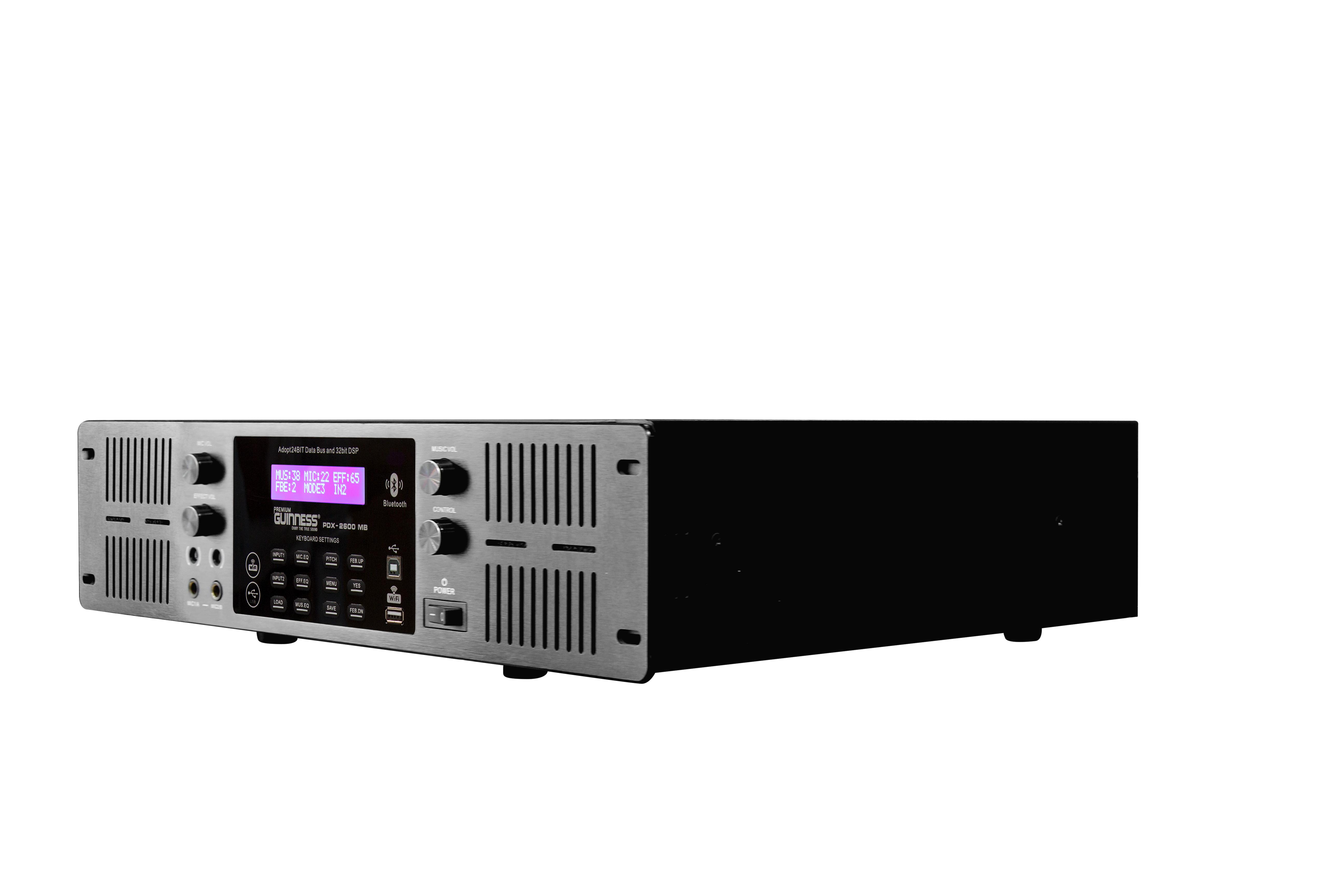 Power Mixer Amplifier - Cục đẩy công suất GUINNESS Premium PDX - 2600 MB | Hàng Nhập Khẩu