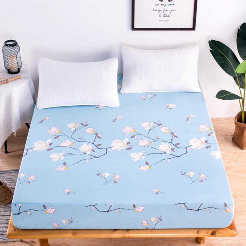 Ga Chống Thấm Cotton LIDACO Loại Dày - Phong lan xanh