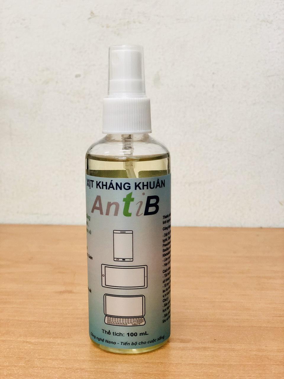 Xịt kháng khuẩn AntiB 100ml -Hàng chính hãng