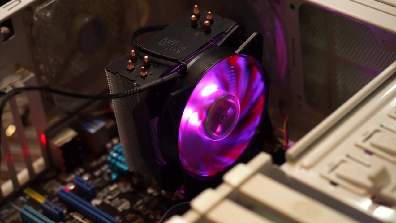 Quạt Tản Nhiệt Khí CPU Cooler Master MasterAir 410P - Hàng Chính Hãng