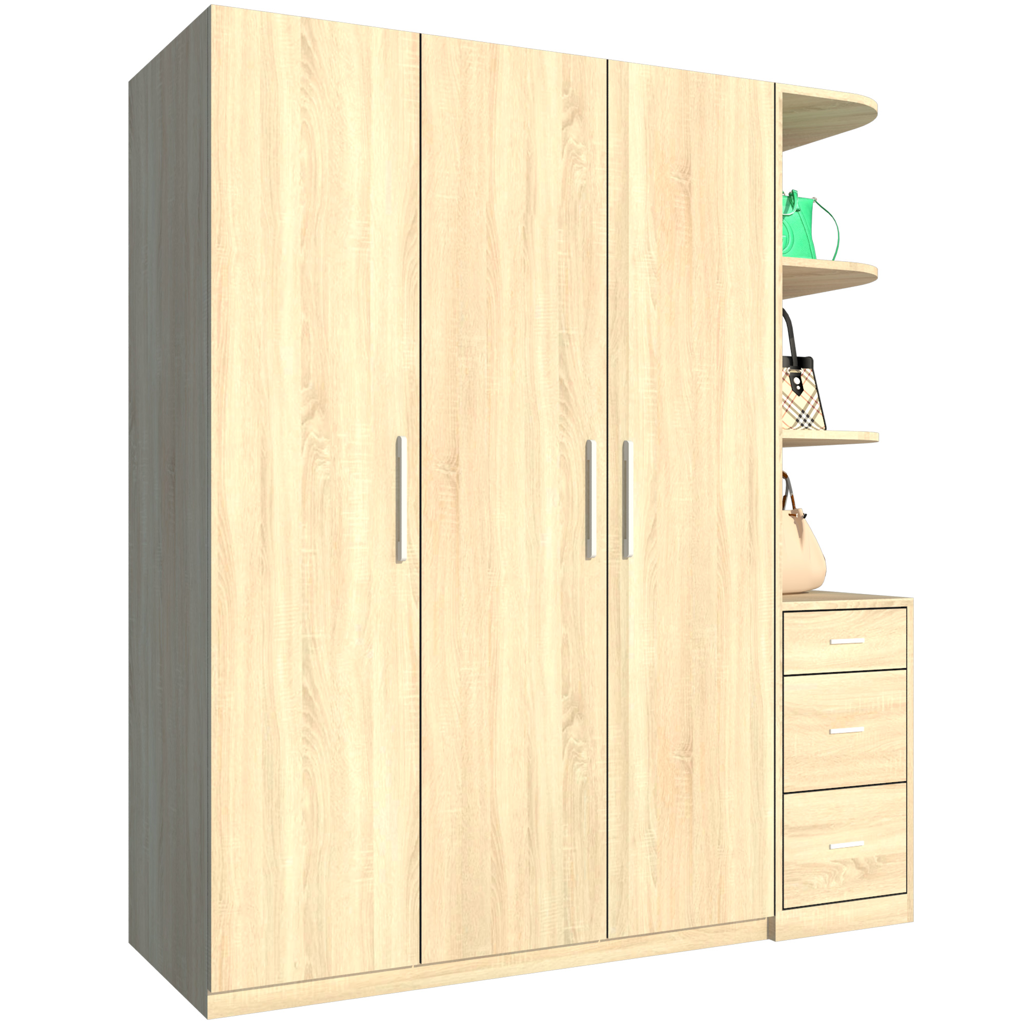 Tủ Áo FT054 (180cm x 200cm)