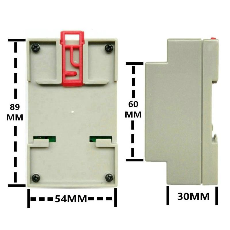 Công Tắc Cảm Biến 2 Đầu Dò Nhiệt Độ Relay 10A Wifi T.u.y.a FND-01