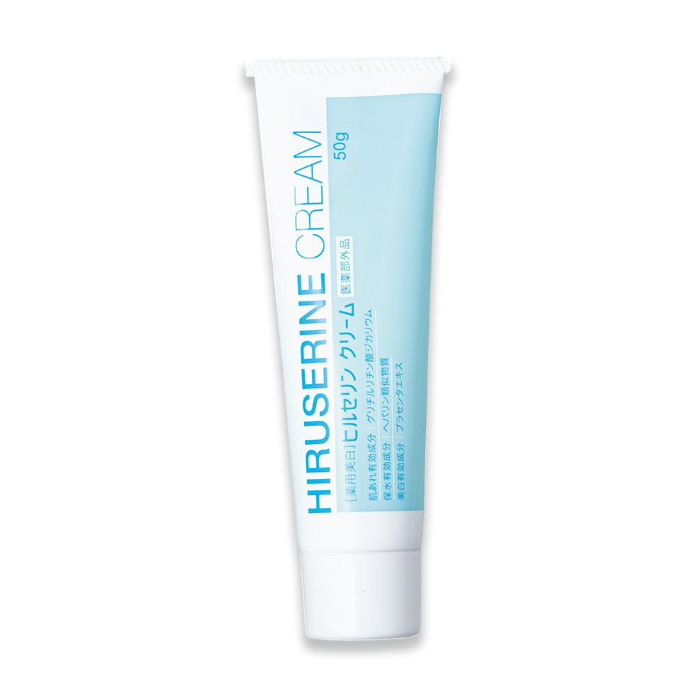 Kem dưỡng ẩm dành cho da khô Hiruserine Cream (50g)