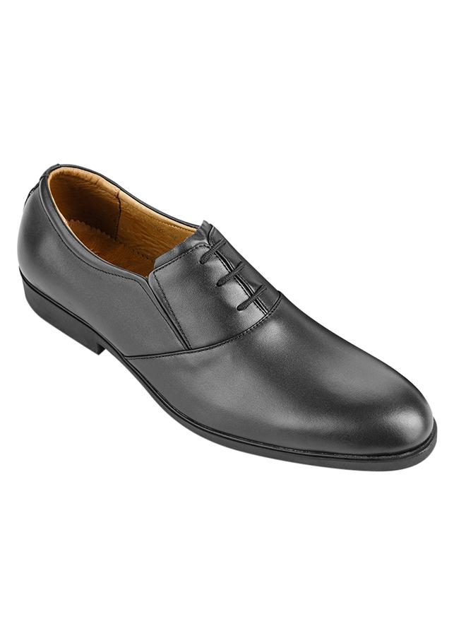 Giày Tây Nam Da Bò SUNPOLO SUKT0528D - Đen