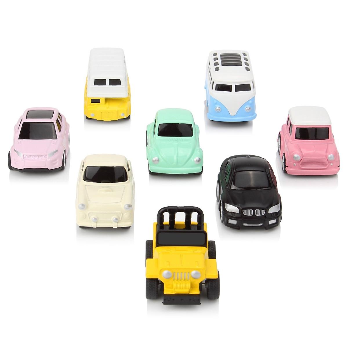 Bộ 8 Ô Tô Mô Hình Đồ Chơi MINI CAR Cho Bé Trai