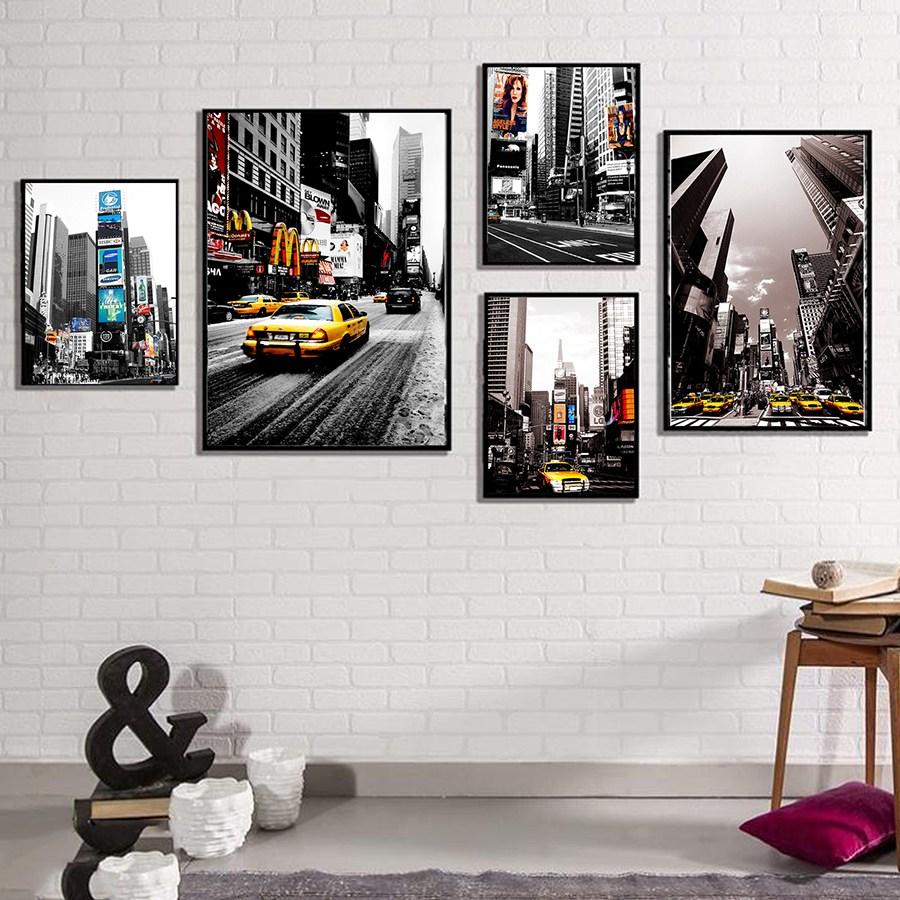 Tranh treo tường, tranh canvas TB38 bộ 5 tấm