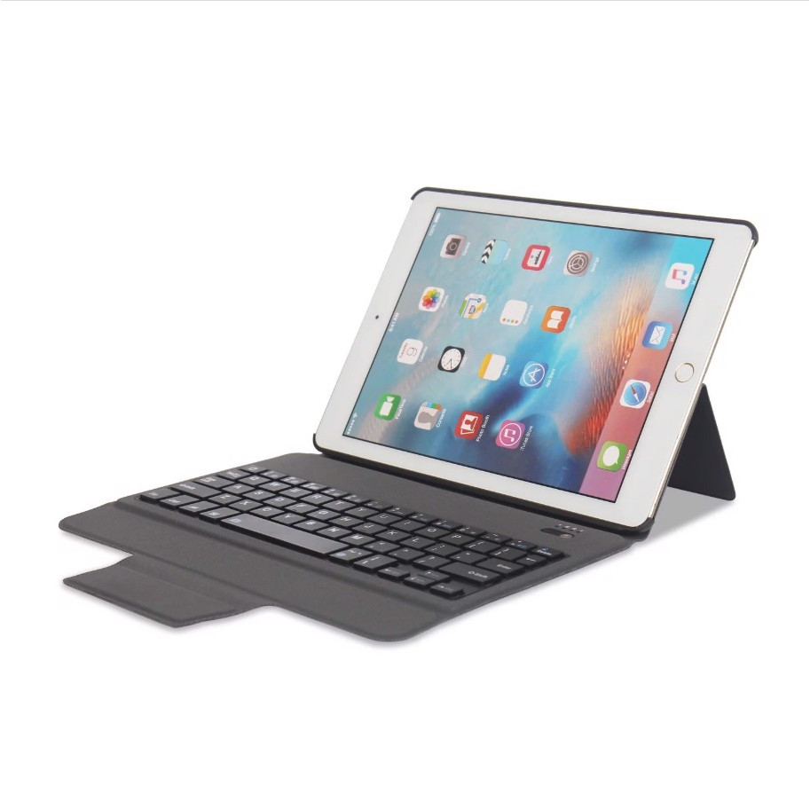 Bao da kiêm Bàn phím Bluetooth đèn LED 7 màu cho iPad 11 inch