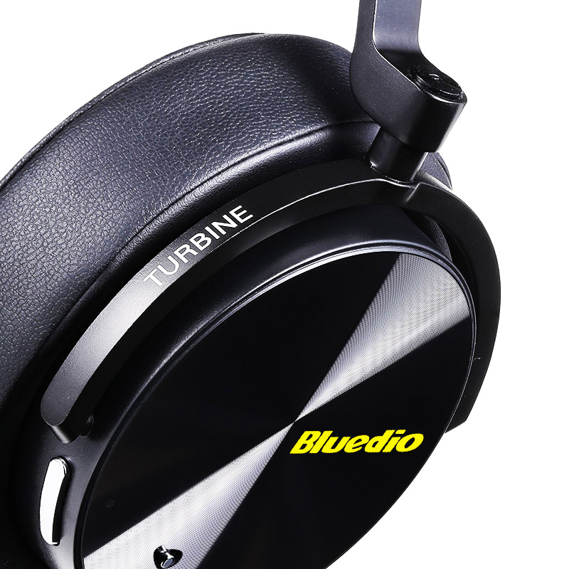 Tai nghe Bluetooth chống ồn Bluedio T5 (ANC), Bluetooth 4.2, BUILT-IN MIC - Hàng Nhập Khẩu