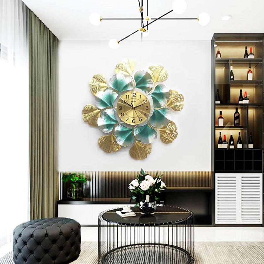 Đồng Hồ Treo Tường S-DC888 Trang Trí độc lạ đẹp hiện đại cao cấp cỡ lớn 3d phù hợp phòng khách, phòng ngủ