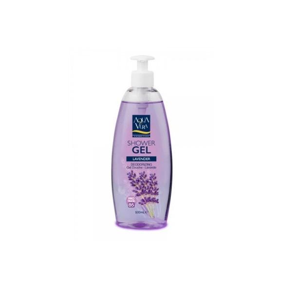Gel tắm dưỡng da AquaVera chiết xuất oải hương 500ml