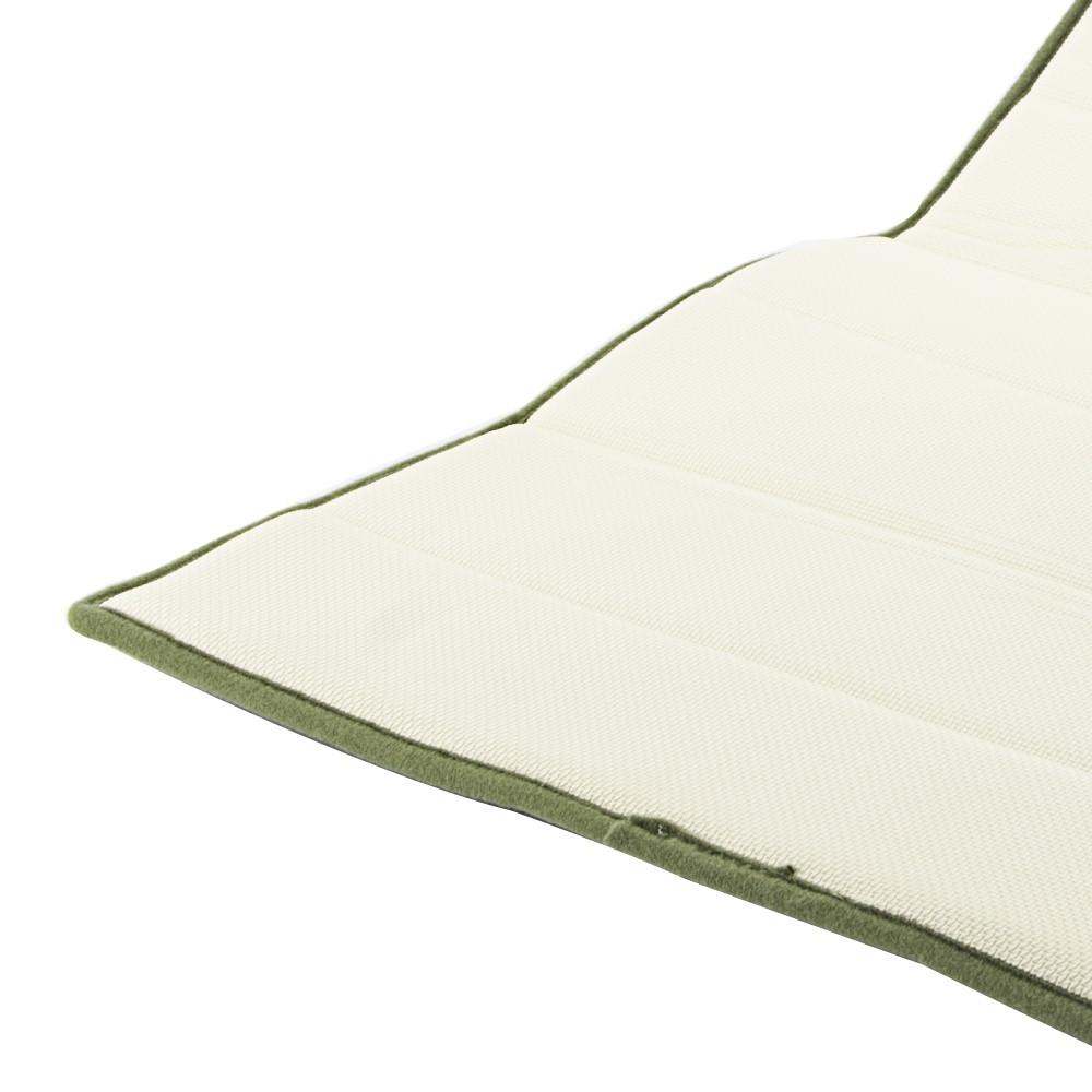 Thảm Chùi Chân Memory Foam Lock&Lock Mặt Trơn Kiểu Basic 430*610*15mm MAT-512 Size S (Nhiều Màu)