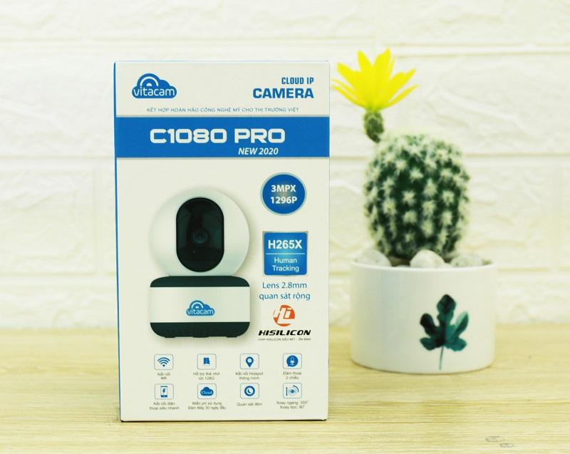 CAMERA VITACAM C1080 PRO - 3.0MPX FULL 1296P - HÀNG CHÍNH HÃNG