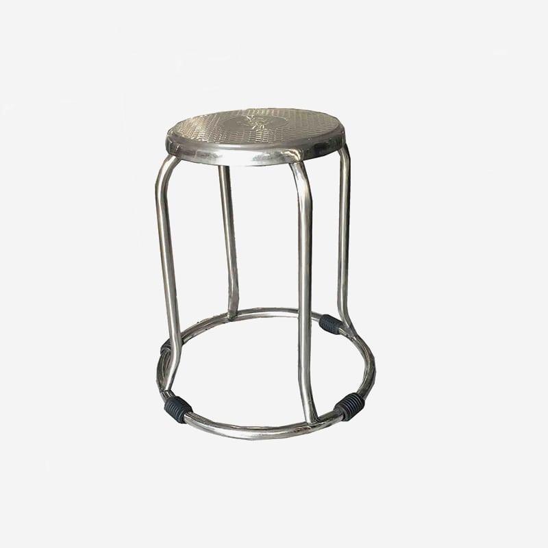 Ghế inox tròn phi 19