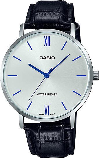 Đồng hồ Casio nam dây da MTP-VT01L-7B1UDF (40mm)