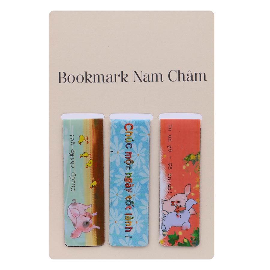 Bookmark Nam Châm - Chúc Một Ngày Tốt Lành