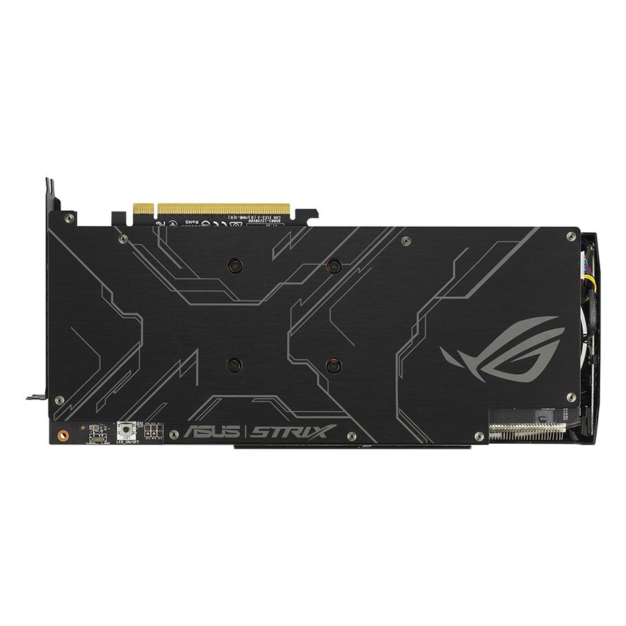 Card Màn Hình VGA ASUS ROG-STRIX-GTX1660TI-A6G-GAMING GDDR6 6GB 192-bit - Hàng Chính Hãng