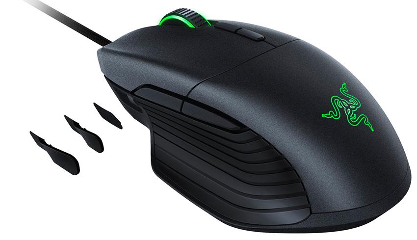 Chuột Chơi Game Có Dây Razer Basilisk 16000 DPI LED RGB 8 Nút - Hàng Chính Hãng