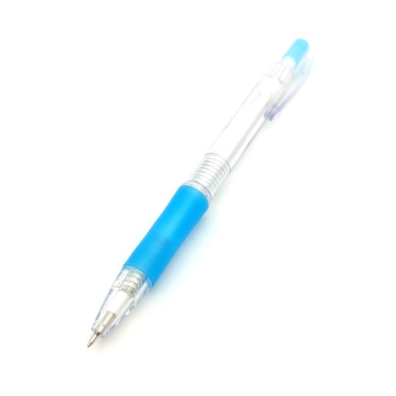 Bút Bi OT-BP006BU - Thân Xanh Dương - Mực Xanh