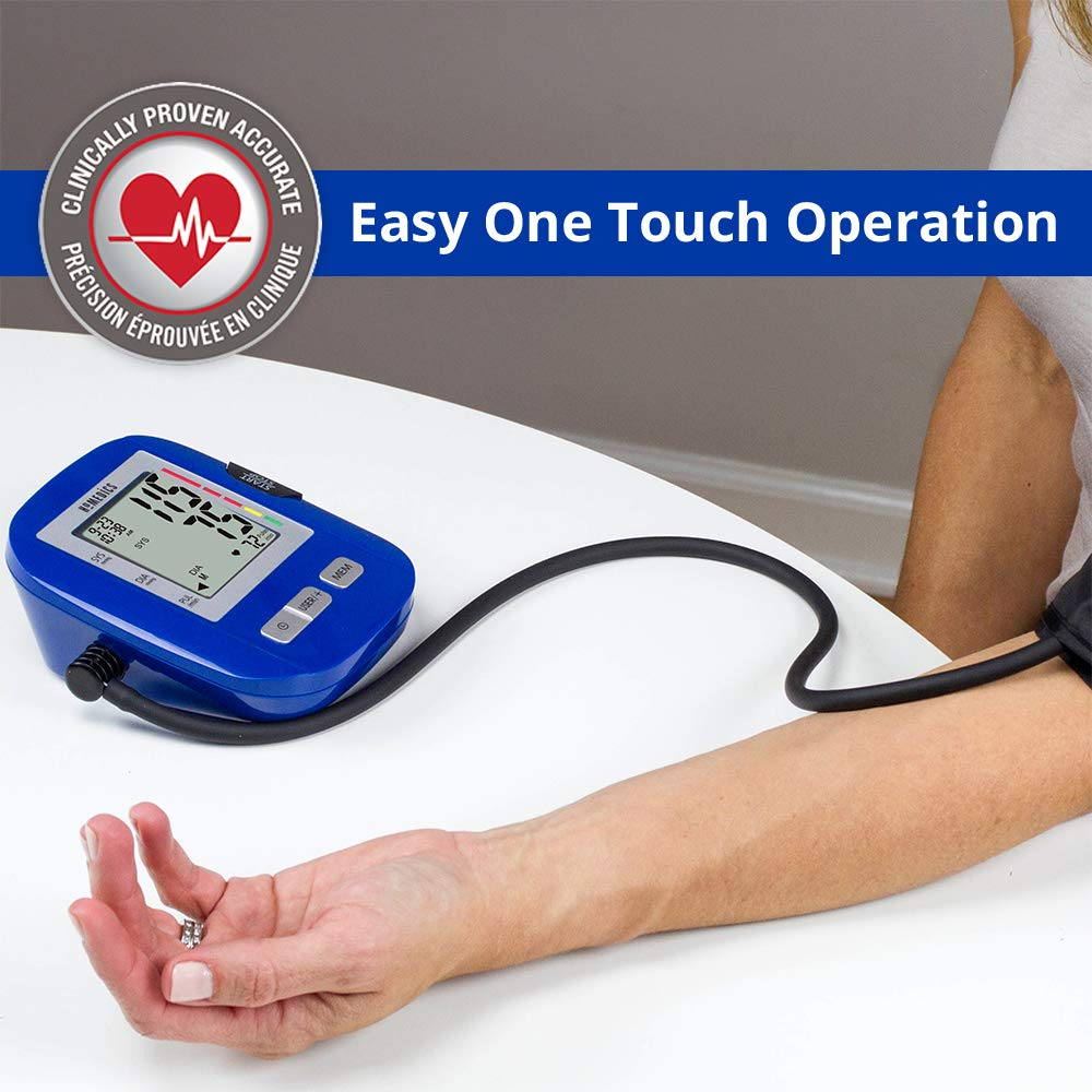 Máy đo huyết áp bắp tay HoMedics BPA-0200 công nghệ đo Smart Measure Technology nhập khẩu USA
