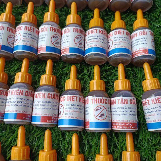 ( không sđt ) 150 lọ thuốc diệt kiến gián sinh học