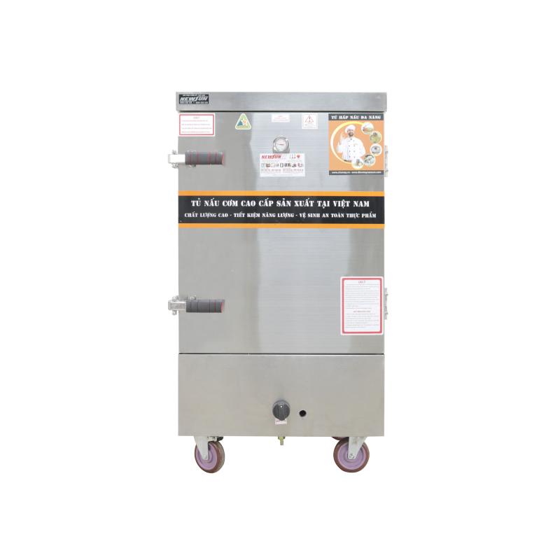 Tủ Nấu Cơm Điện Gas 8 Khay NEWSUN - Hàng Chính Hãng