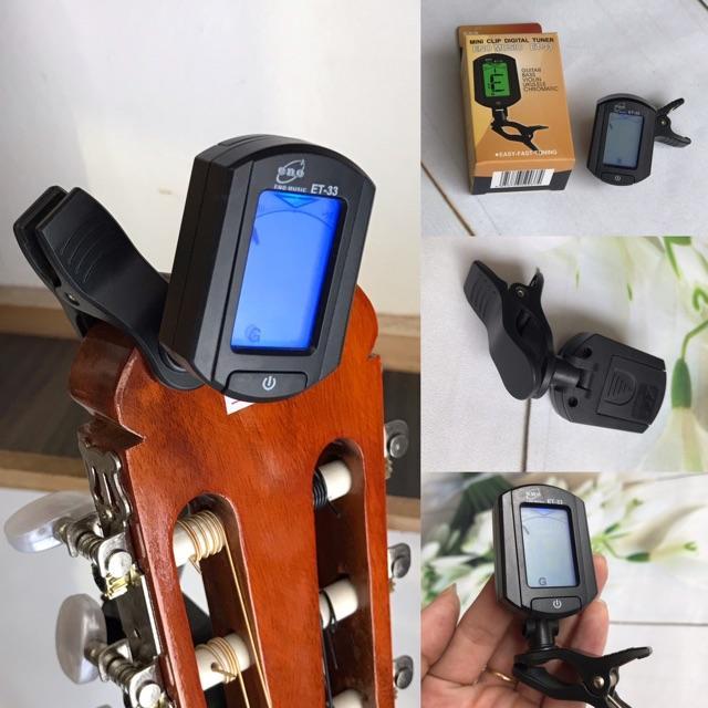 Compo 4 phụ kiện cần thiết cho guitar - tuner, capo, phím, dây