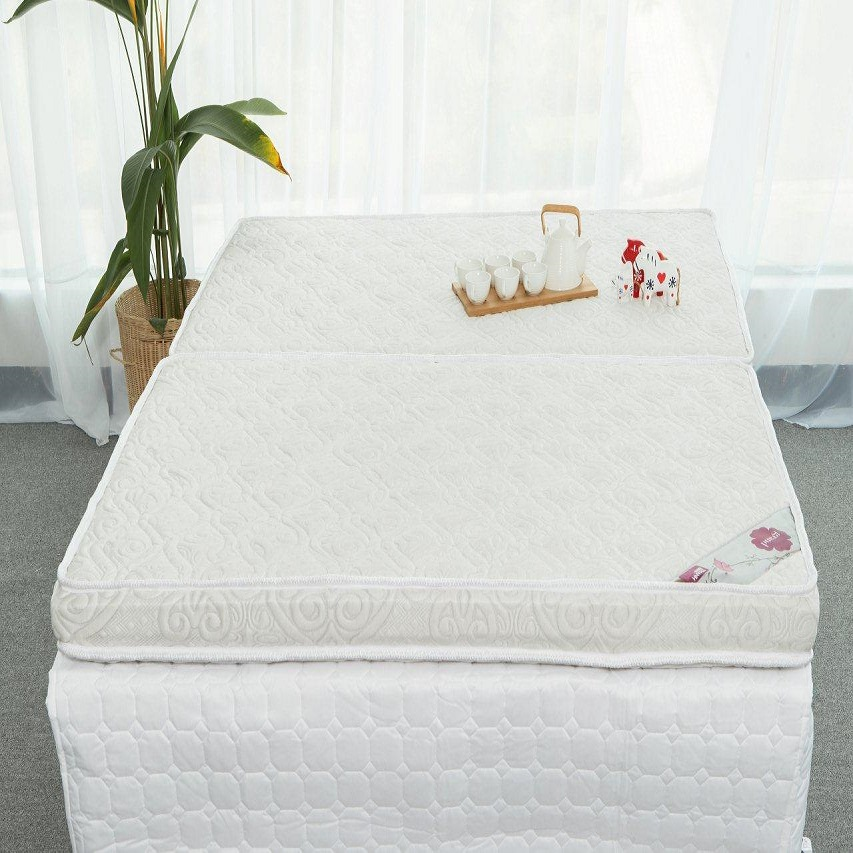 Nệm bông mát xa - 100% bông nguyên sinh Grand 9 cm - Vải bọc 100% cotton dệt