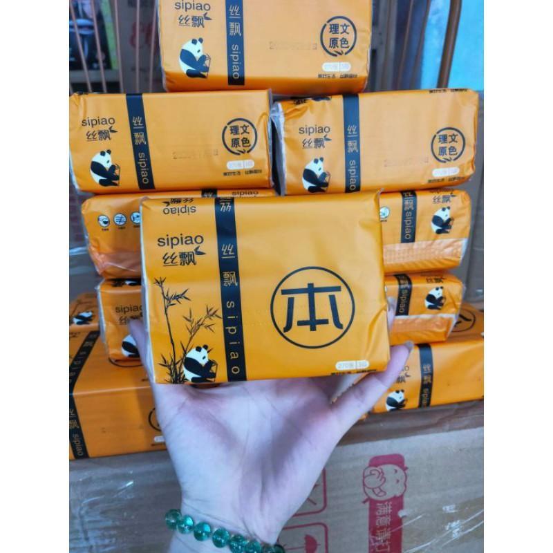 Giấy ăn gấu trúc Sinpao thùng 30 gói