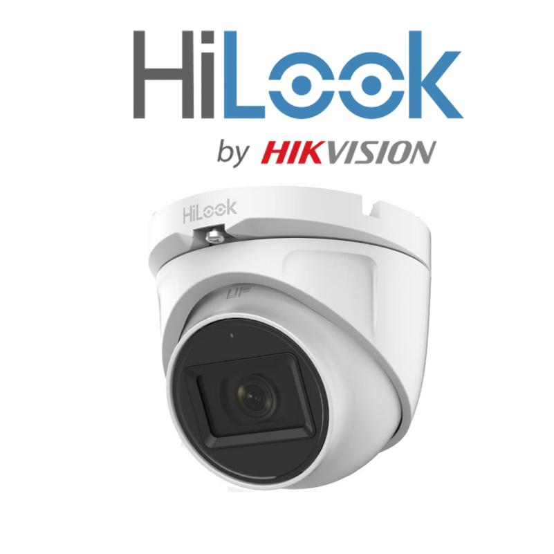Camera HDTVI bán cầu 2.0MP Hilook THC-T120-MS-Hàng chính hãng