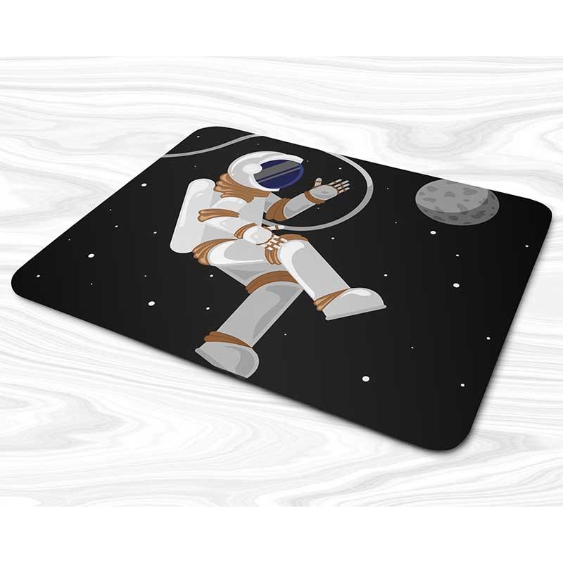 Miếng lót chuột mẫu Phi hành gia, mặt trăng