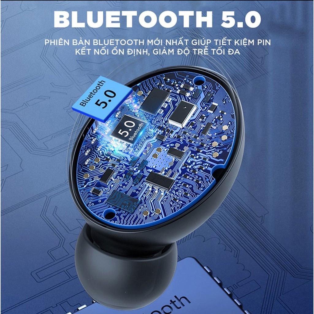 Tai Nghe Bluetooth Không Dây LANITH F9 PRO – Tặng cáp sạc 3 đầu tiện lợi - Phiên bản cảm ứng quốc tế Bluetooth 5.0 - Nghe nhạc liên tục 5h - Hàng nhập khẩu – TAI0F9PRO.CAP0001