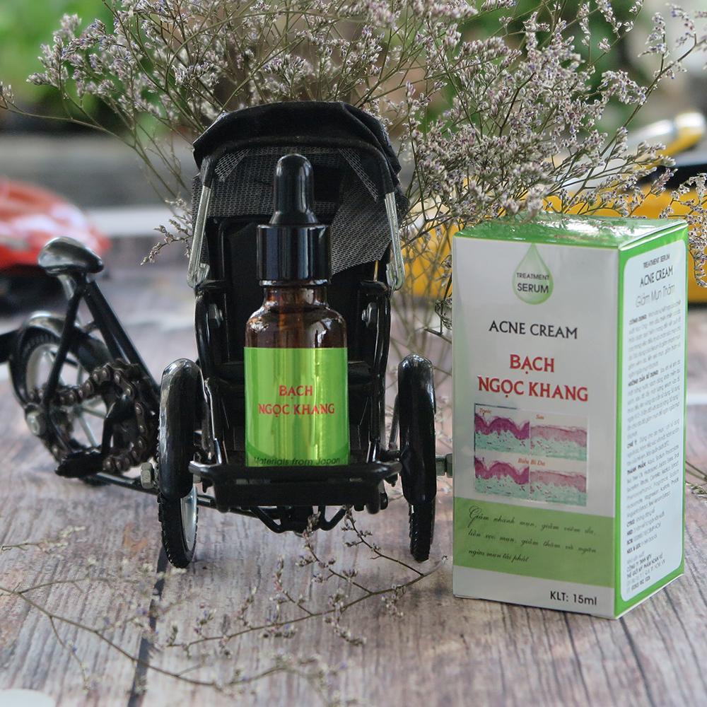 Serum giảm mụn thâm 15ml - Serum Acne Cream Bạch Ngọc Khang