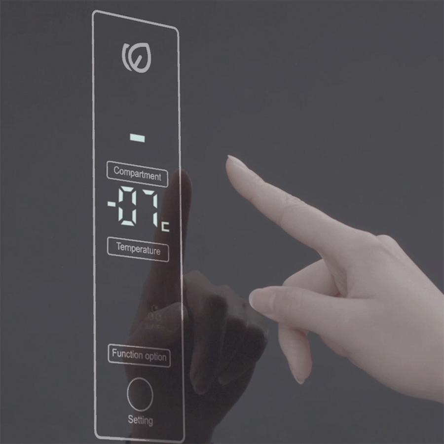 Tủ lạnh Aqua Inverter 318 Lít AQR-T369FA(WBS) - Chỉ giao HCM