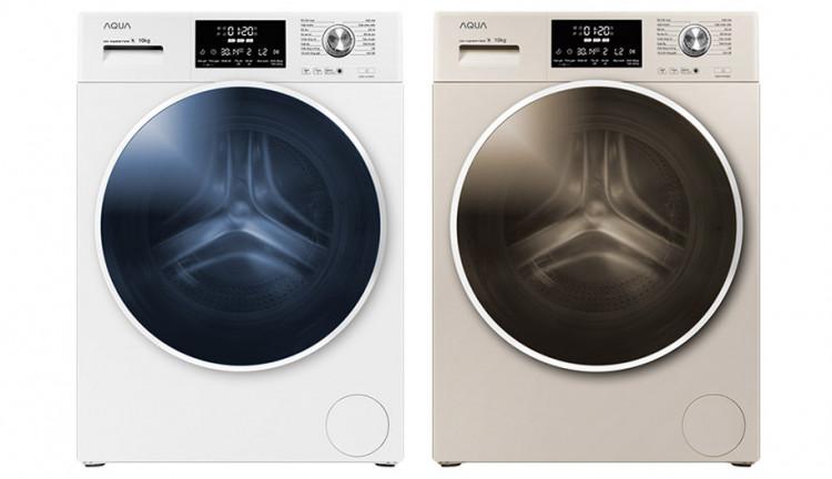 Máy giặt AQUA AQD-D1000C W, 10.0kg, Inverter Thiết kế hiện đại, sang trọng