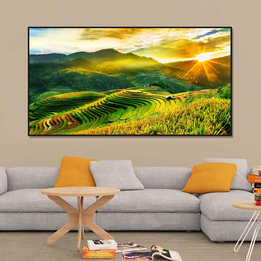 Tranh trang trí phong cảnh Việt Nam CVS63