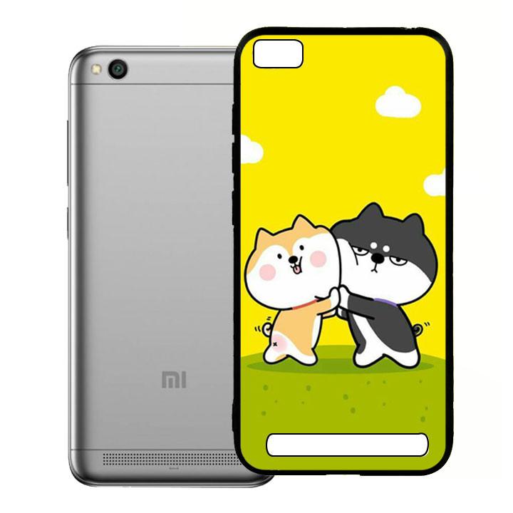 Ốp lưng viền TPU cho điện thoại Xiaomi Redmi 5A - Couple 02