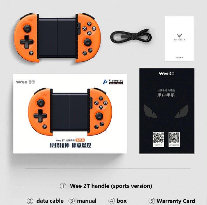 Tay cầm chơi game Flydigi Wee 2T - Hàng chính hãng