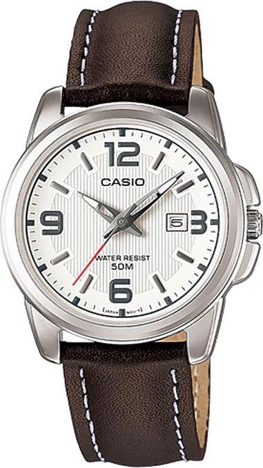 Đồng Hồ Nữ Dây Da Casio LTP-1314L-7AVDF (36.5 × 33.1 mm)