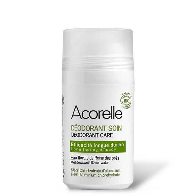 Lăn Khử Mùi Acorelle Chiết Xuất Tinh Thể Alum - Hoa Meadowsweet Hiệu Quả Lâu Dài 50ml